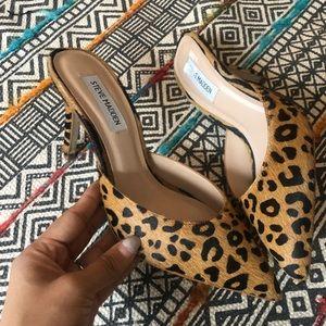STEVE MADDEN cheetah heels